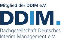 Wir sind Mitglied im DDIM (Dachgesellschaft Deutsches Interim Management e.V.)
